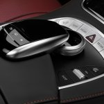 Mercedes-Benz S-class Coupe touchpad
