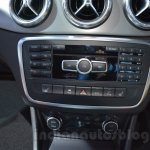 Mercedes CLA 45 AMG at center console Auto Expo 2014