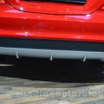 Mercedes CLA 45 AMG diffuser at Auto Expo 2014