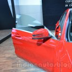 Mercedes CLA 45 AMG driver door at Auto Expo 2014