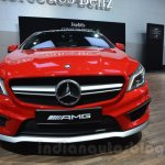 Mercedes CLA 45 AMG front at Auto Expo 2014