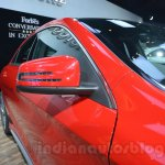 Mercedes CLA 45 AMG mirror at Auto Expo 2014