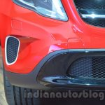Mercedes GLA airdam at Auto Expo 2014