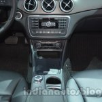 Mercedes GLA center console at Auto Expo 2014
