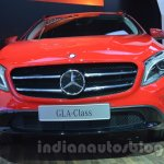 Mercedes GLA front at Auto Expo 2014