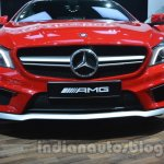 Mercedes GLA front fascia at Auto Expo 2014