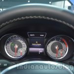 Mercedes GLA instrument binnacle at Auto Expo 2014