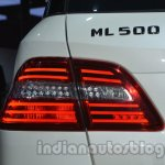 Mercedes M-Guard ML 500 badge at Auto Expo 2014