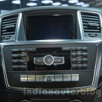 Mercedes M-Guard center console at Auto Expo 2014