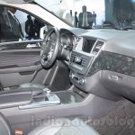 Mercedes M-Guard dashboard passenger side at Auto Expo 2014