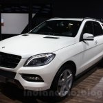 Mercedes M-Guard front three quarters at Auto Expo 2014