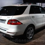 Mercedes M-Guard rear three quarters at Auto Expo 2014