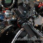 Moto Guzzi California 1400 Touring clip-on handlebar at Auto Expo 2014