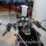 Moto Guzzi California 1400 Touring dashboard at Auto Expo 2014