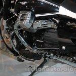 Moto Guzzi California 1400 Touring engine at Auto Expo 2014