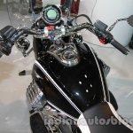 Moto Guzzi California 1400 Touring fuel tank at Auto Expo 2014