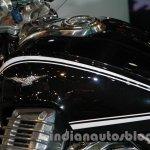 Moto Guzzi California 1400 Touring fuel tank side at Auto Expo 2014