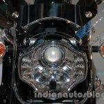 Moto Guzzi California 1400 Touring headlamp at Auto Expo 2014