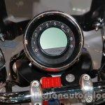 Moto Guzzi California 1400 Touring instrument cluster at Auto Expo 2014