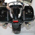 Moto Guzzi California 1400 Touring rear at Auto Expo 2014