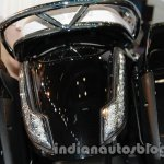 Moto Guzzi California 1400 Touring tail section at Auto Expo 2014