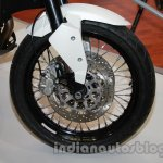 Moto Morini Granpasso at Auto Expo 2014 disc brake