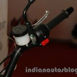 Moto Morini Granpasso at Auto Expo 2014 handle
