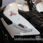 Moto Morini Granpasso at Auto Expo 2014 logo