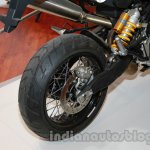 Moto Morini Granpasso at Auto Expo 2014 rear wheel