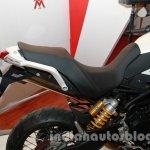 Moto Morini Granpasso at Auto Expo 2014 seat