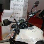Moto Morini Granpasso at Auto Expo 2014 tank