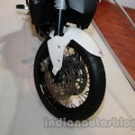 Moto Morini Granpasso at Auto Expo 2014 wheel front