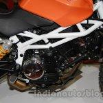 Moto Morini Scrambler Auto Expo 2014 engine
