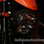 Moto Morini Scrambler Auto Expo 2014 headlight