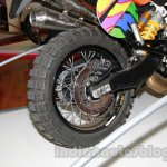 Moto Morini Scrambler Auto Expo 2014 rear wheel