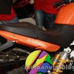 Moto Morini Scrambler Auto Expo 2014 seat