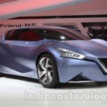 Nissan Friend-ME concept front three quarter right live