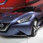 Nissan Friend-ME concept headlamp live