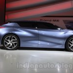Nissan Friend-ME concept side profile live