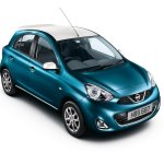 Nissan Micra Limited Edition UK blue