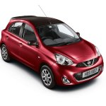 Nissan Micra Limited Edition UK red