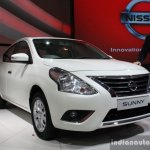 Nissan Sunny facelift front three quarter live