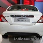 Nissan Sunny facelift rear view at Auto Expo 2014