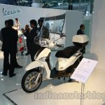 Piaggio Liberty 125 Auto Expo front three quarter