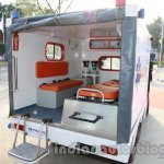 Polaris Ambulance rear inside live