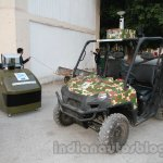 Polaris Ranger Unmanned and control unit live