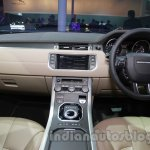Range Rover Evoque 9-speed dashboard at Auto Expo 2014