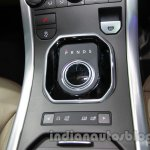 Range Rover Evoque 9-speed gear selector at Auto Expo 2014