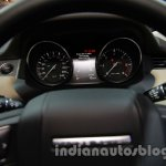 Range Rover Evoque 9-speed instrument cluster at Auto Expo 2014
