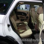 Range Rover Evoque 9-speed rear seat at Auto Expo 2014